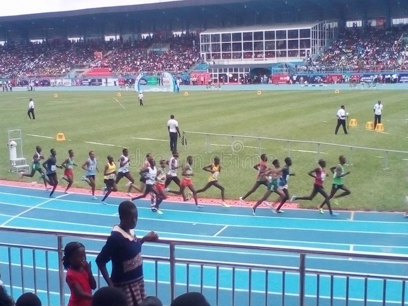 Asaba2018 stadium. The just concluded African senior athletics competition in delta state, Nigeria stock photography