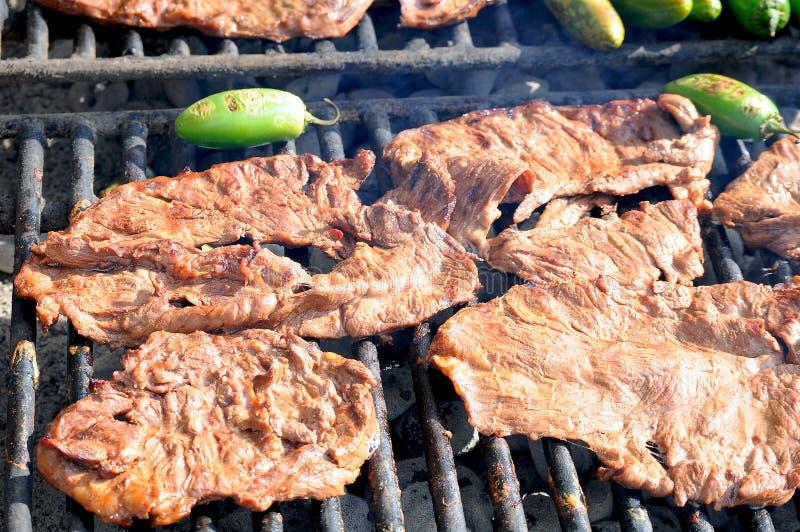 asada carne στοκ εικόνα με δικαίωμα ελεύθερης χρήσης
