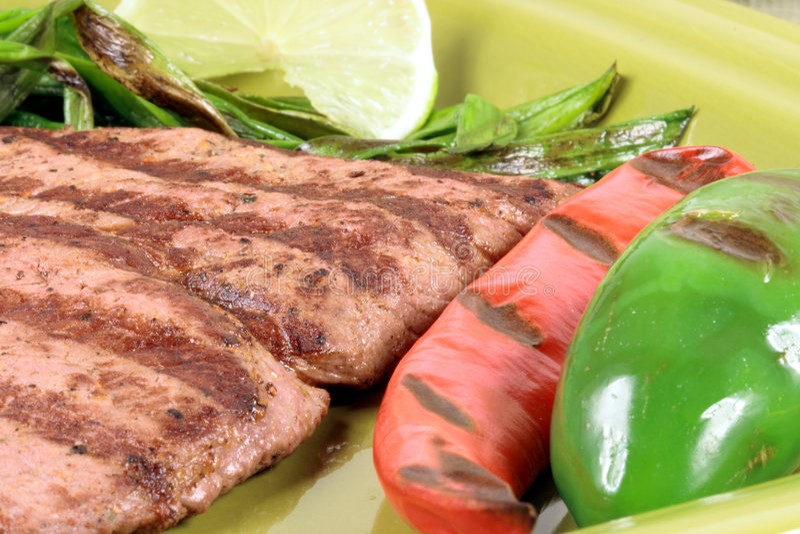 asada carne meksykanin fotografia stock