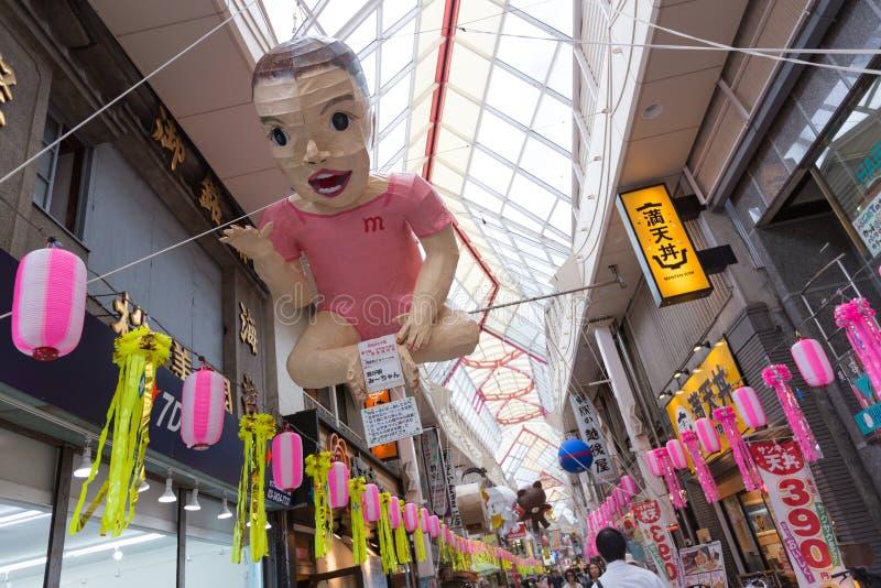 Asagaya Tanabata festiwal w Tokio, Japonia zdjęcie royalty free
