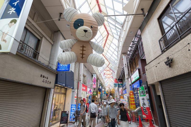 Asagaya Tanabata festiwal w Tokio, Japonia zdjęcie stock