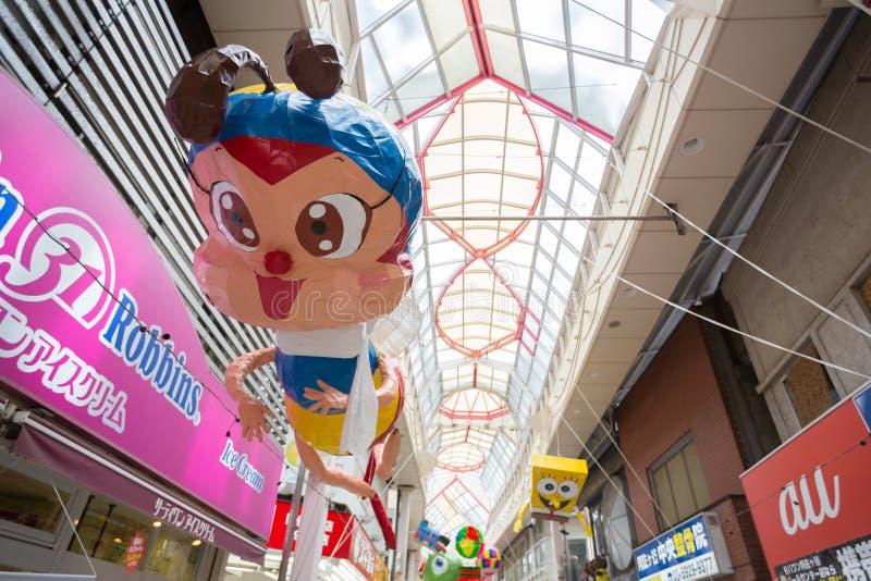 Asagaya Tanabata festiwal w Tokio, Japonia fotografia royalty free