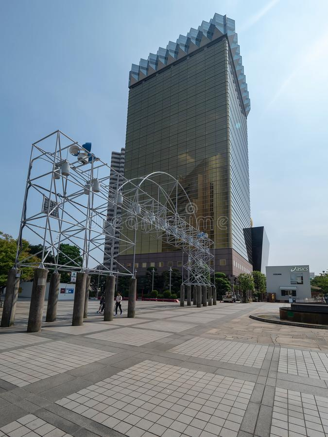 Asahi Breweries Headquarter, Tokyo, Giappone immagine stock