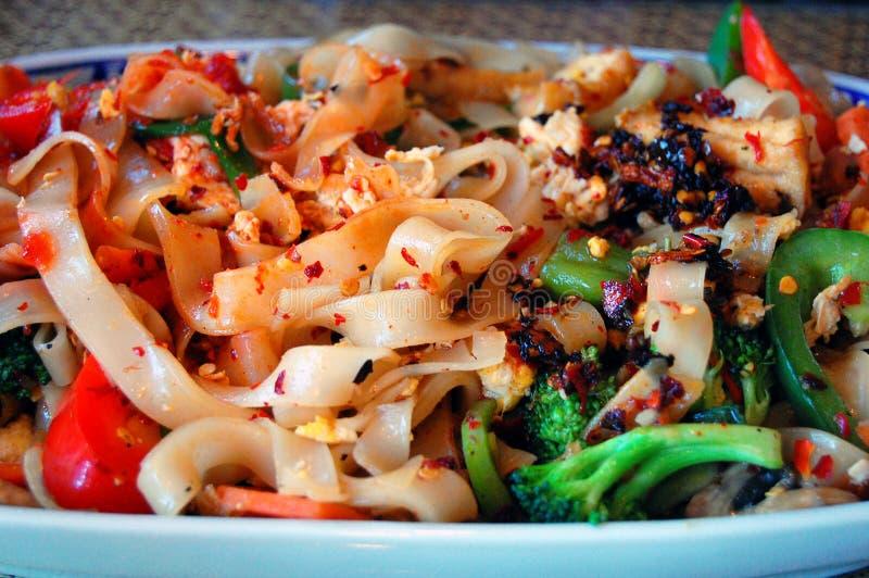 Asain Noodle Dish stock image