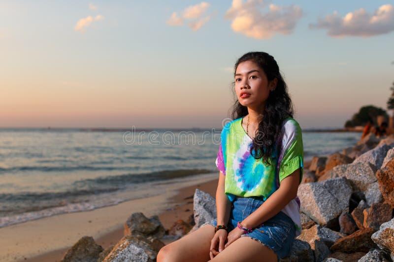 Asain woman stock photo