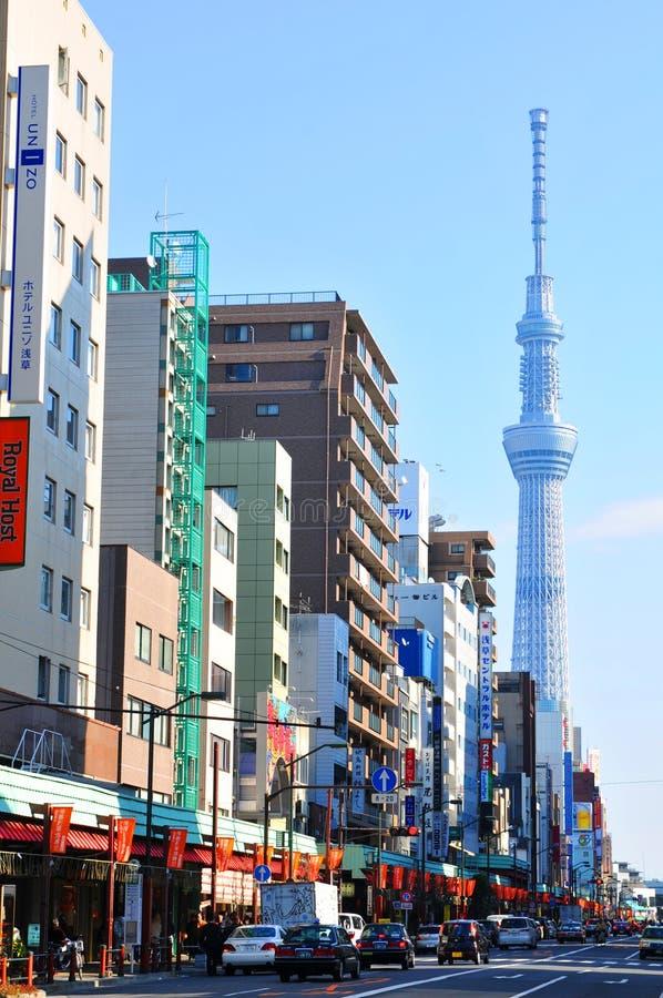 asakusa东京 免版税图库摄影