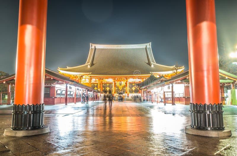 Asakusa寺庙 库存照片