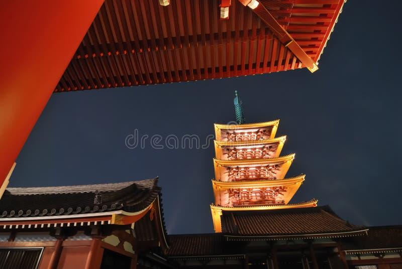 asakusa Τόκιο στοκ εικόνες