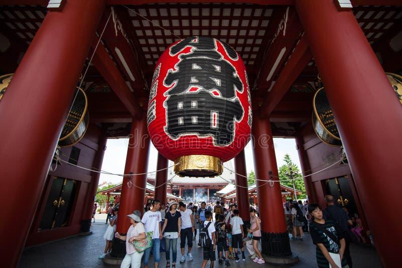 asakusa Japan ji senso świątynia Tokyo zdjęcia royalty free