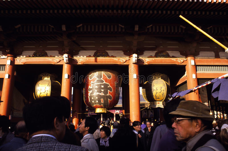 Download Asakusa Shrine in Tokyo editorial photography. Image of shinto - 16369362