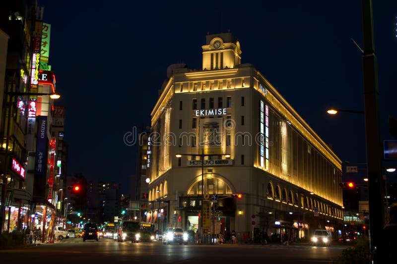 Asakusa station, Tokyo royaltyfri fotografi