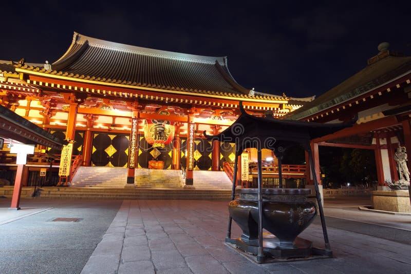 Asakusa-Tempel in Tokyo Japan lizenzfreies stockfoto
