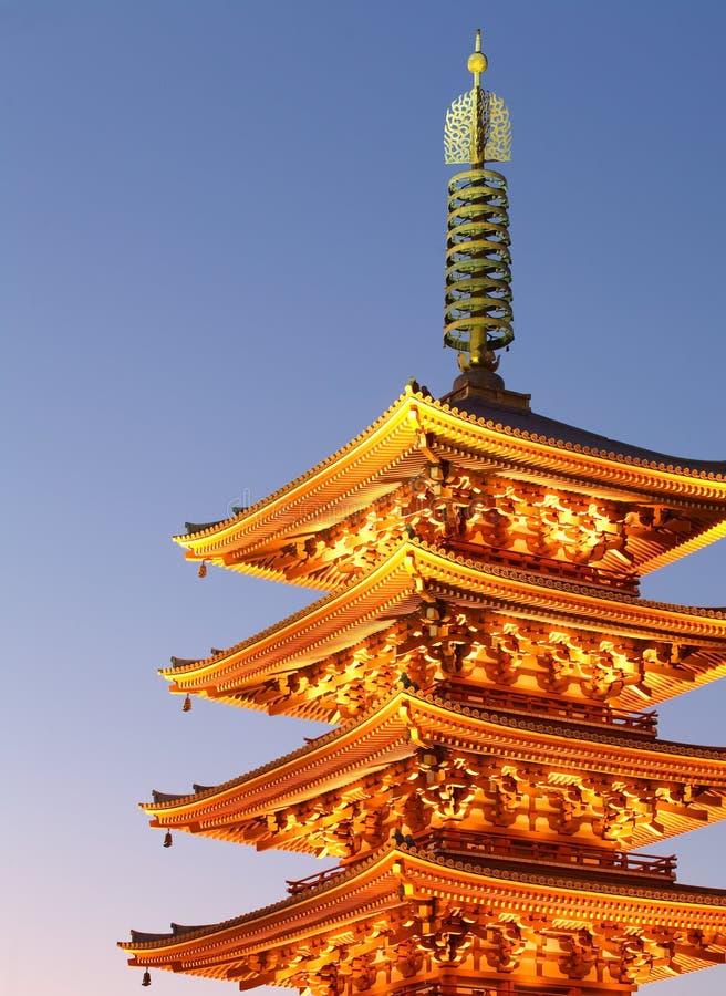 Asakusa Tokyo stockfotos