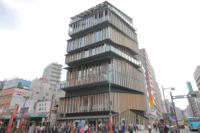 Asakusa turystyki centre Tokio Japonia zdjęcia royalty free