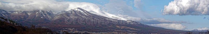 Asamayama, einer der größten Vulkane in Japan 8.340 Fuß lizenzfreies stockbild