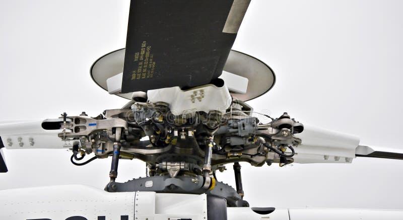 Asamblea de rotor principal - eje imagenes de archivo