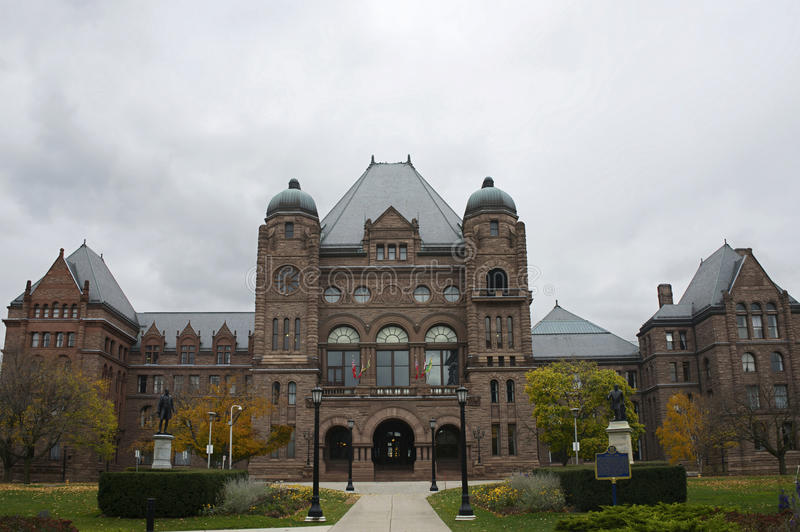 Asamblea legislativa de Ontario, Toronto fotos de archivo