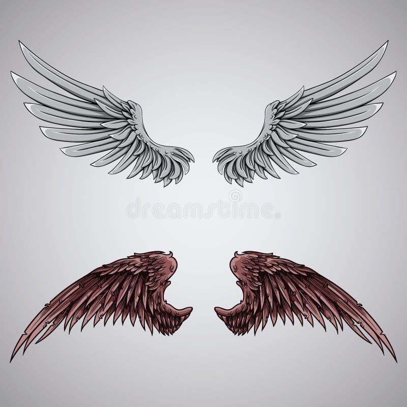 asas imagens de stock