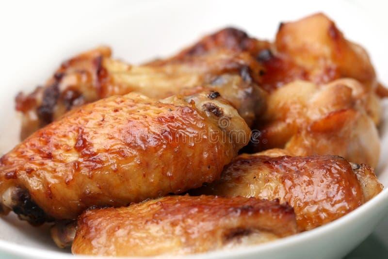 Asas de galinha fotografia de stock royalty free