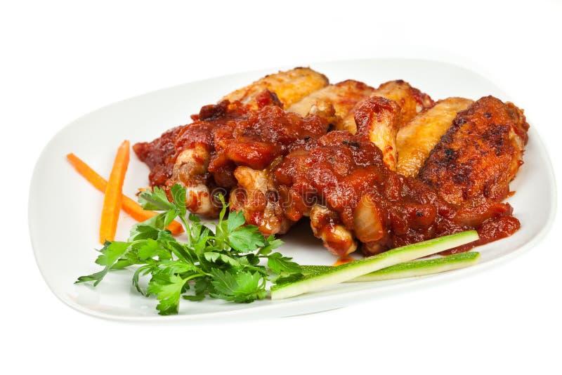 Download Asas de galinha foto de stock. Imagem de quente, cuisine - 21912902