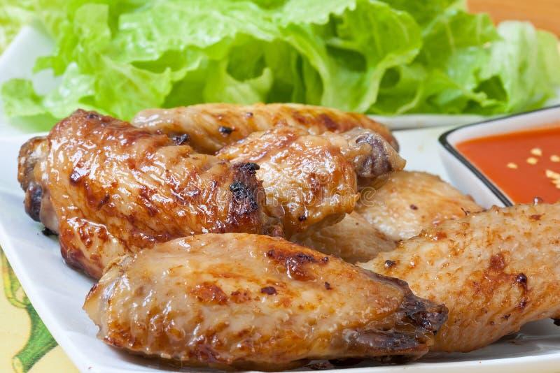 Asas de galinha fotos de stock royalty free