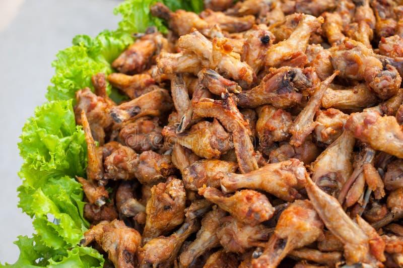 Asas de galinha do búfalo foto de stock