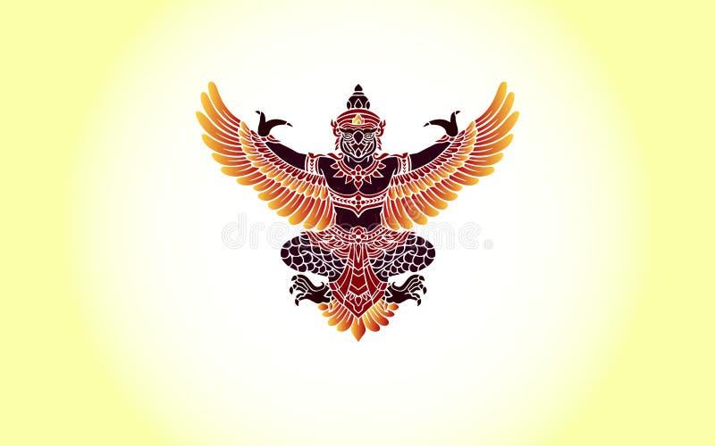 Asas de Garudas fotografia de stock