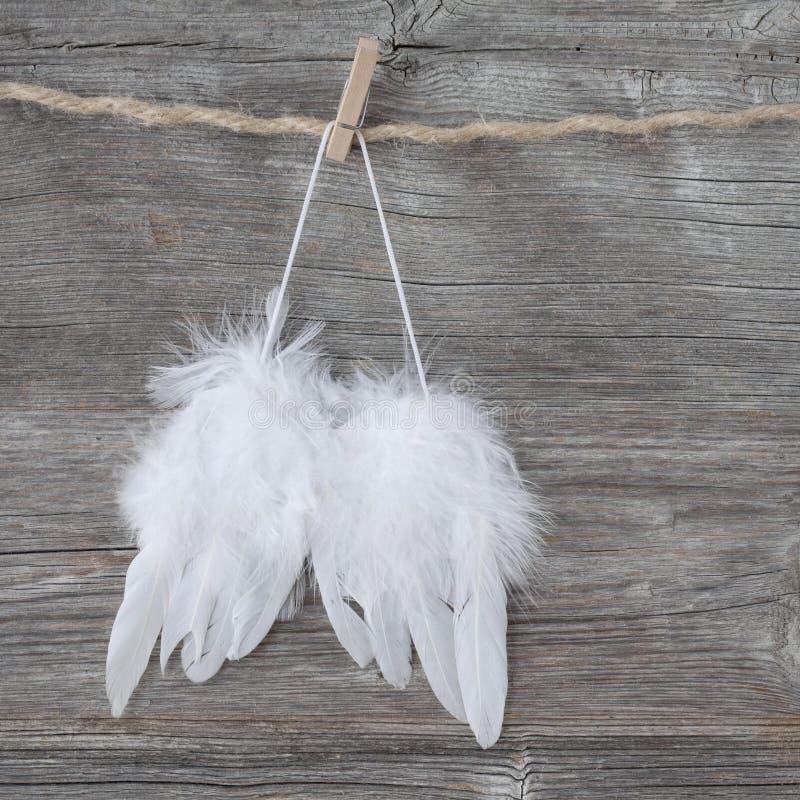Asas do anjo imagens de stock royalty free