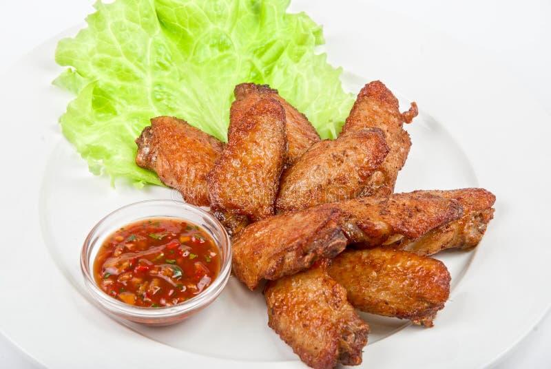 Download Asas roasted galinha imagem de stock. Imagem de basted - 12808305