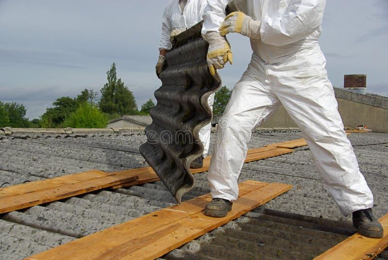 Asbest 05 arkivfoto