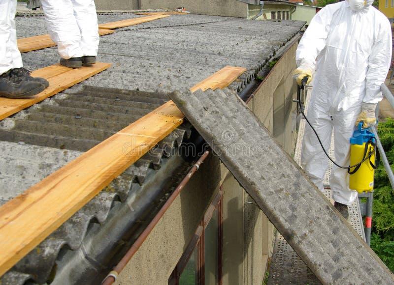 Asbest 06 royalty-vrije stock foto's