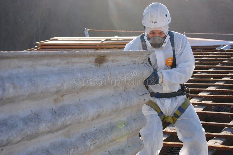 Asbestos-102 fotografia de stock royalty free