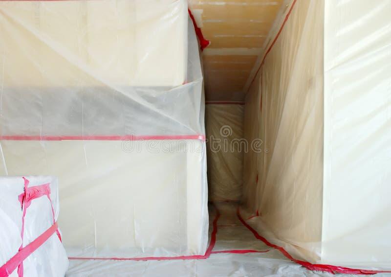 Asbestos Abatement royalty free stock image