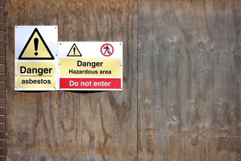 asbestos royalty free stock photo