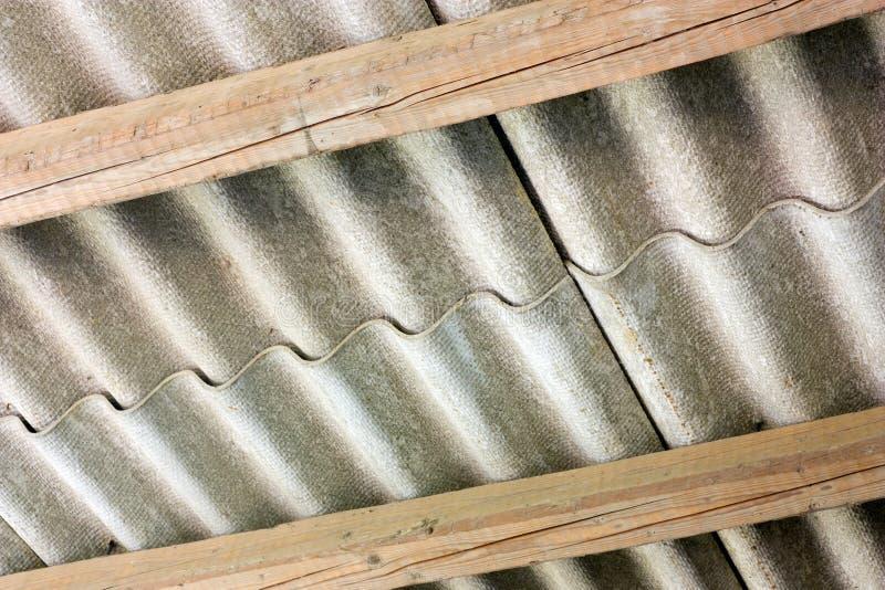 asbesträkning arkivfoto