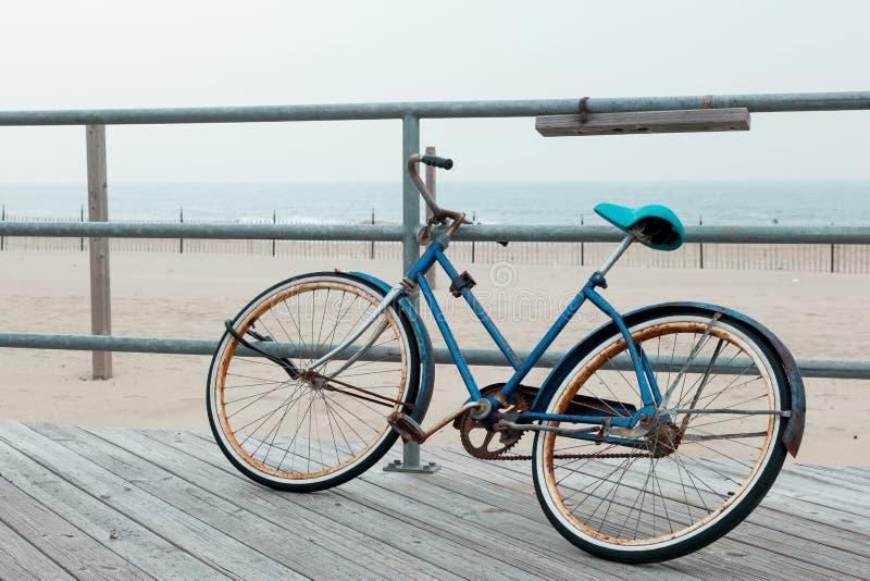 Asbury parkerar strandpromenaden arkivfoto