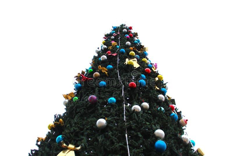 Download Ascendente Cercano Del árbol De Navidad Foto de archivo - Imagen de tiro, colorido: 64210506