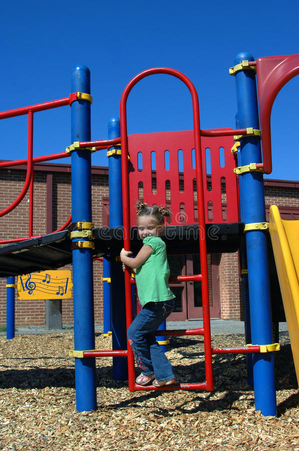Download Ascending Playground Ladder Royalty Free Stock Photos - Image: 23561778
