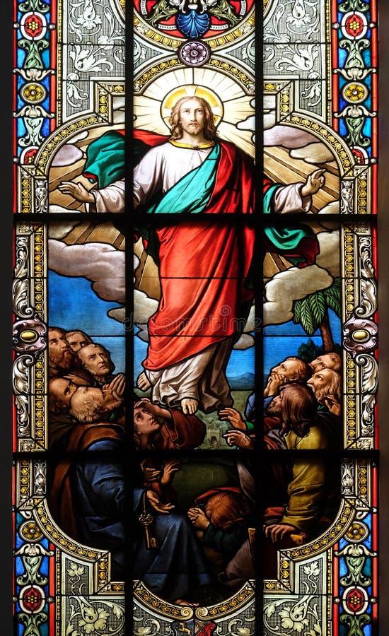 Ascens?o de Christ imagem de stock