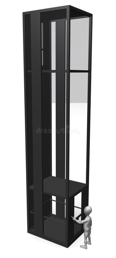 Ascenseur illustration libre de droits