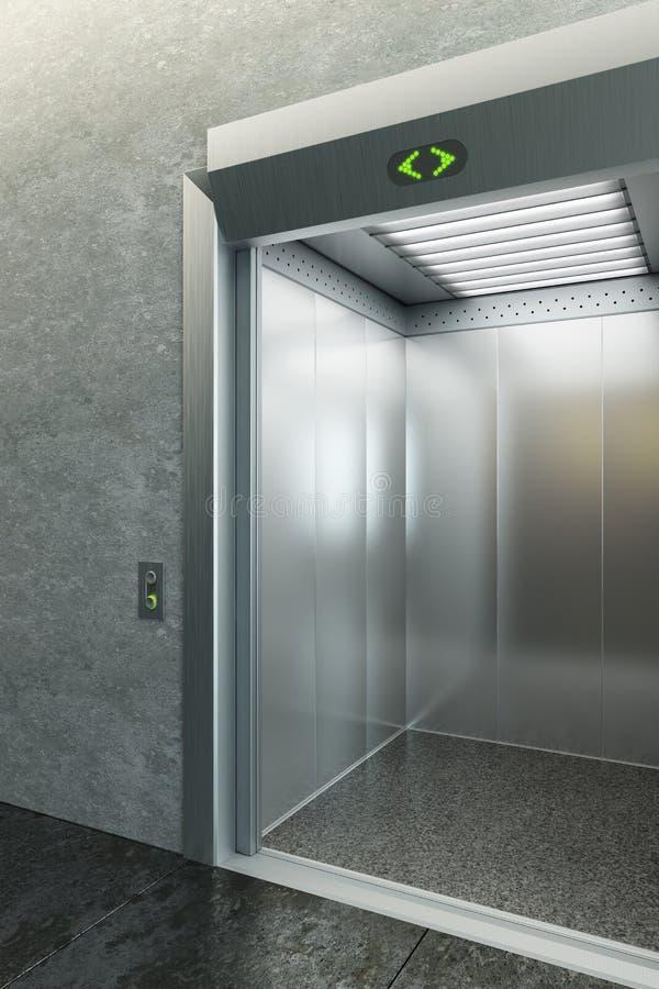 Ascenseur moderne illustration de vecteur