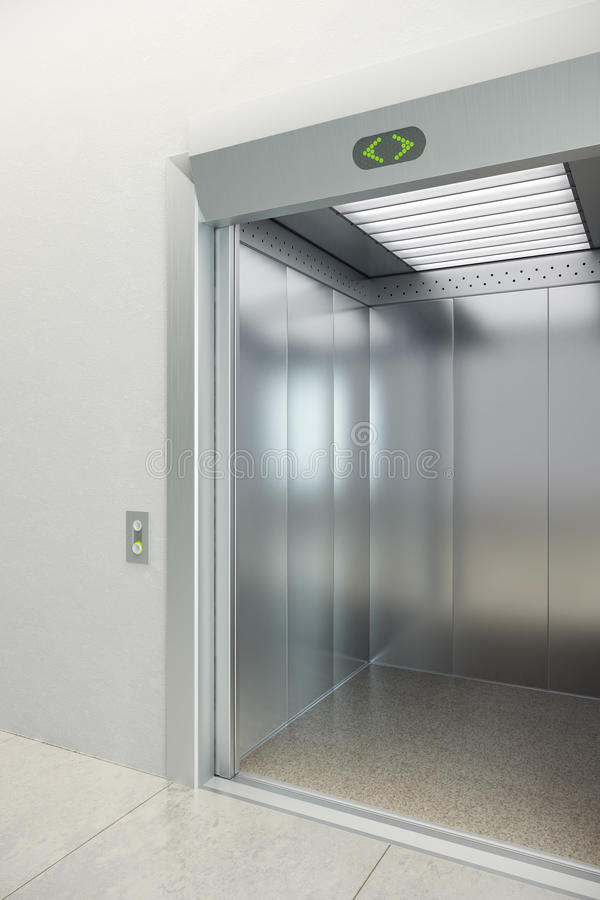 Ascenseur moderne photos stock