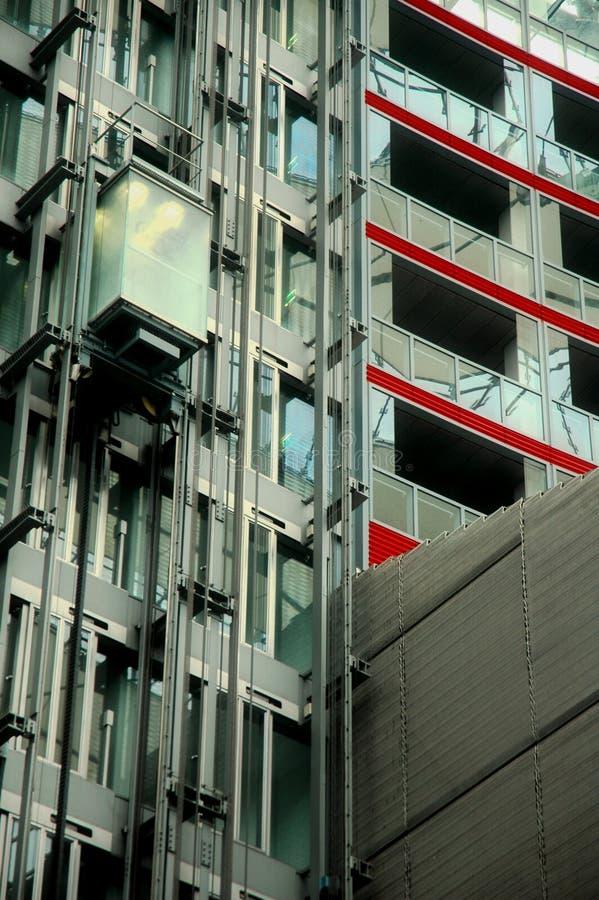 Ascenseur - Sony centrent à Berlin image libre de droits