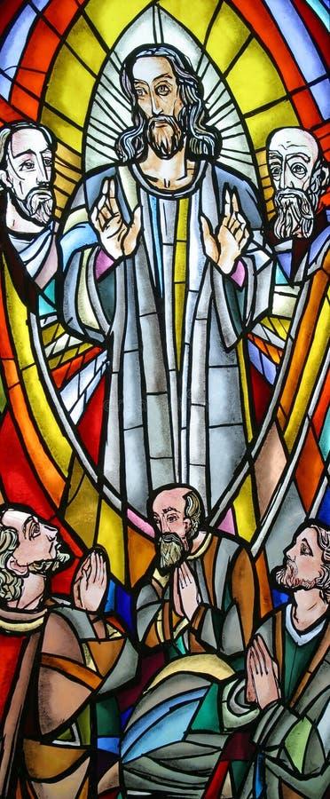Ascensión de Cristo fotografía de archivo libre de regalías