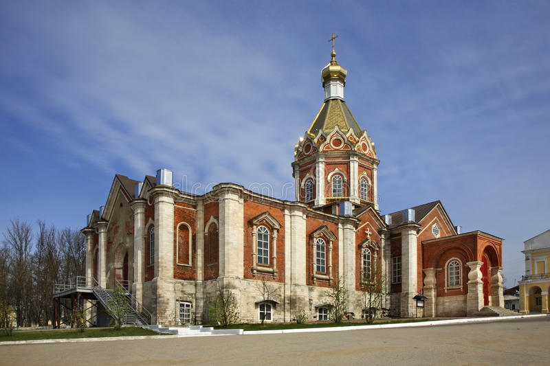 Ascension Cathedral in Kasimov. Ryazan oblast. Russia royalty free stock image