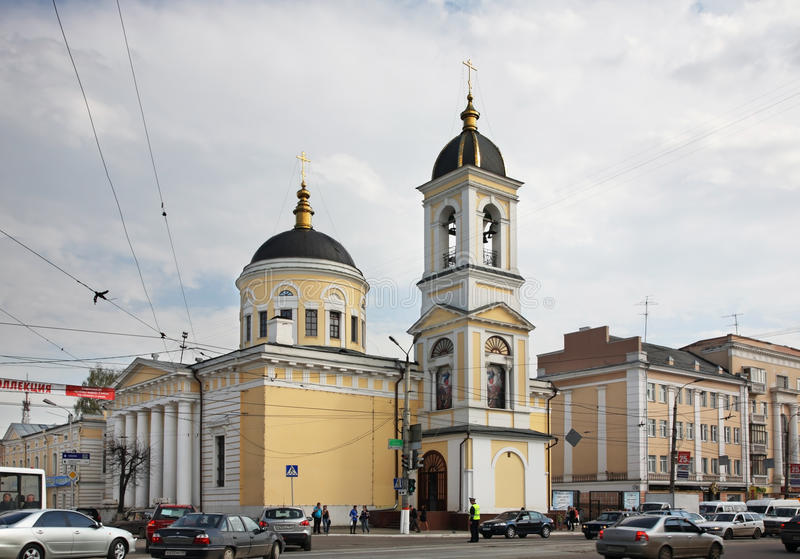 Ascension Cathedral in Tver. Russia royalty free stock photos