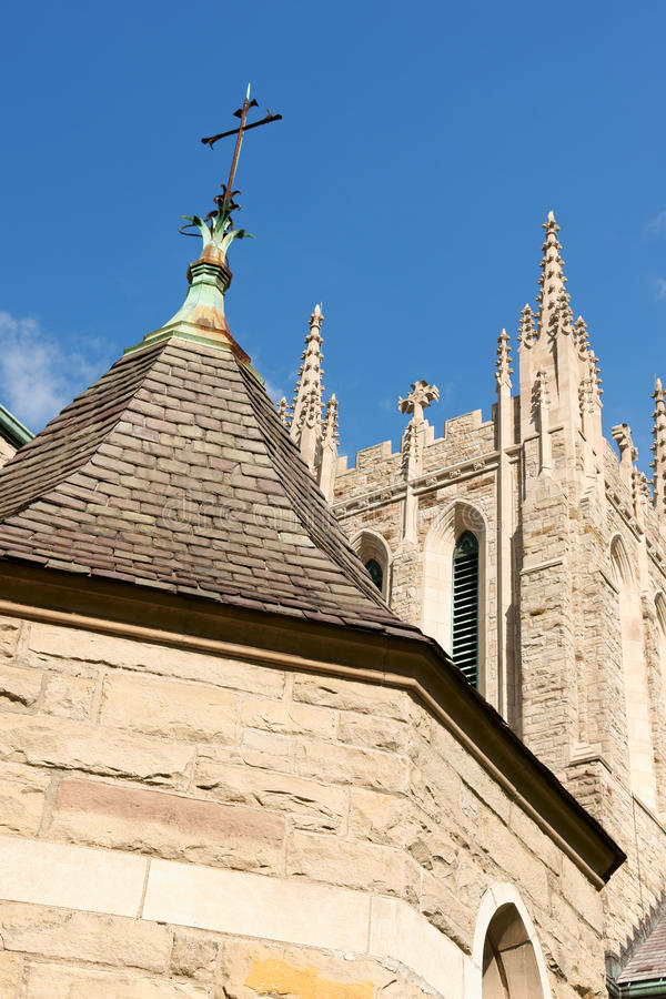 Download Ascension Of Our Lord Church In Montreall Stock Photo - Image: 26341912