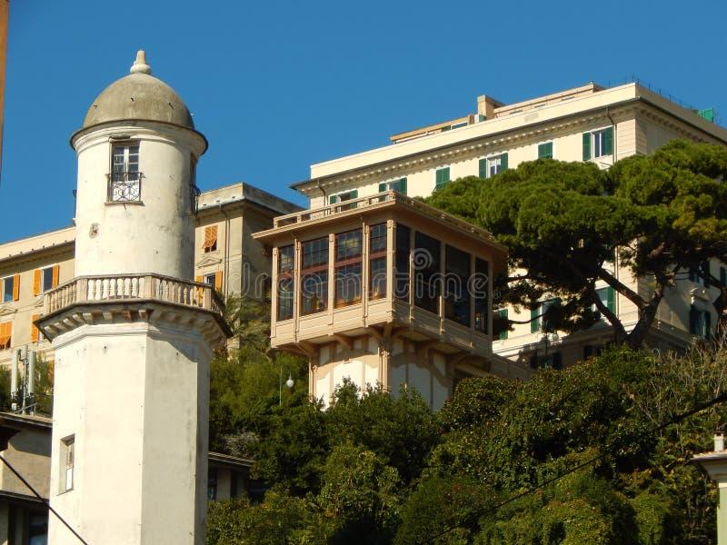 Ascensore di Castelletto photographie stock