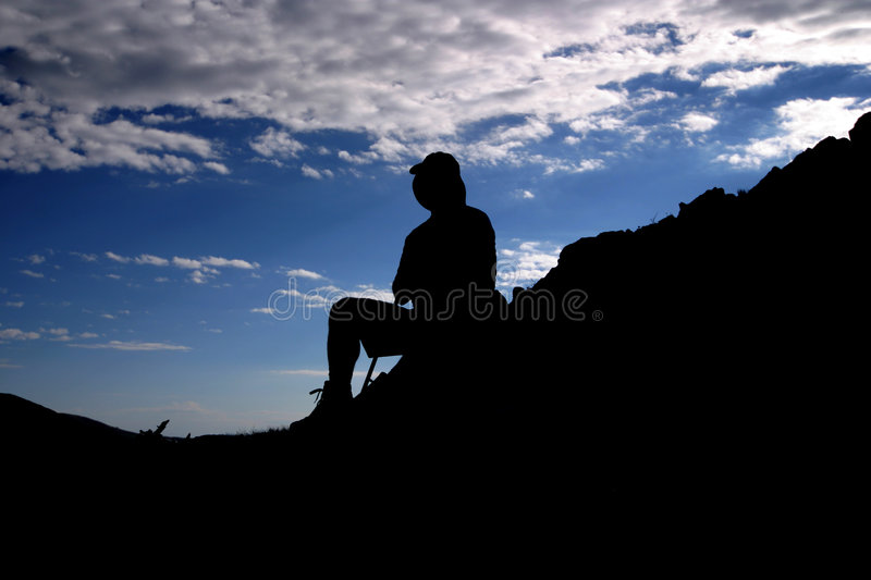 The ascent royalty free stock photo