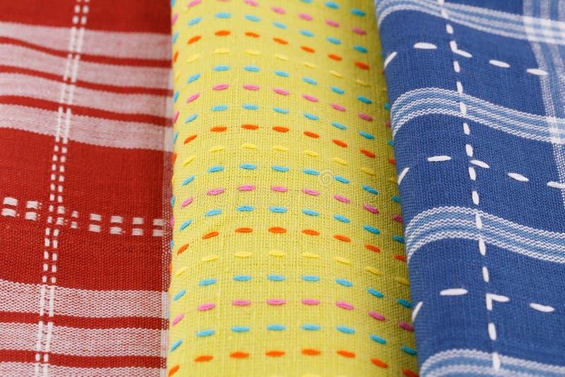 Asciugamani di cucina fotografia stock